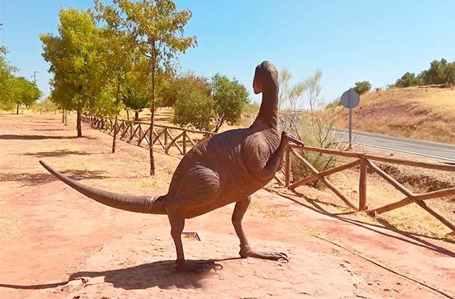 Empreintes de Dinosaures de Santiesteban del Puerto