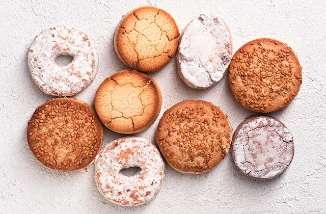 Christmas sweets in Andalucia - Polvorones