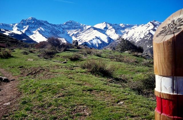 Sierra Nevada - ruta sulayr