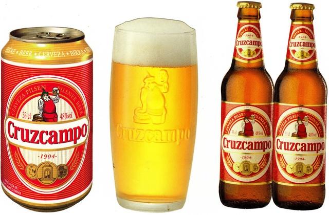 cervezas de Andalucía - CRUZCAMPO