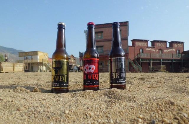 cervezas de Andalucía - far west