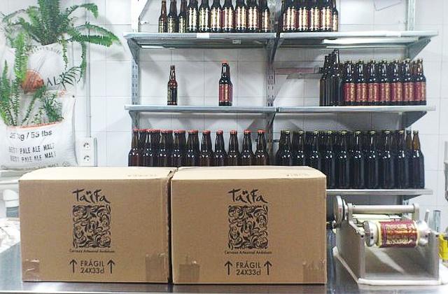cervezas de Andalucía - taifa