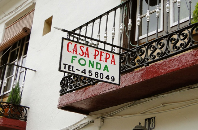 Restaurantes originales en Malaga donde comer bien - casa pepa