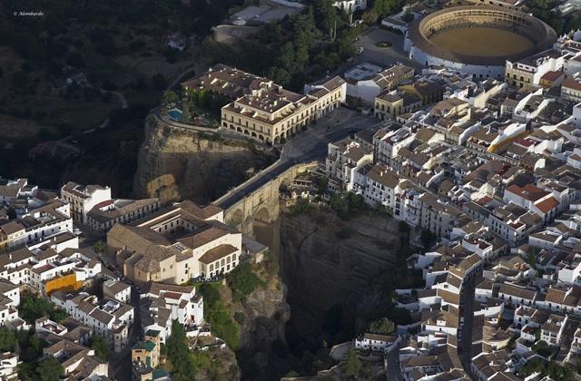Voyage en ballon Andalousie - Ronda