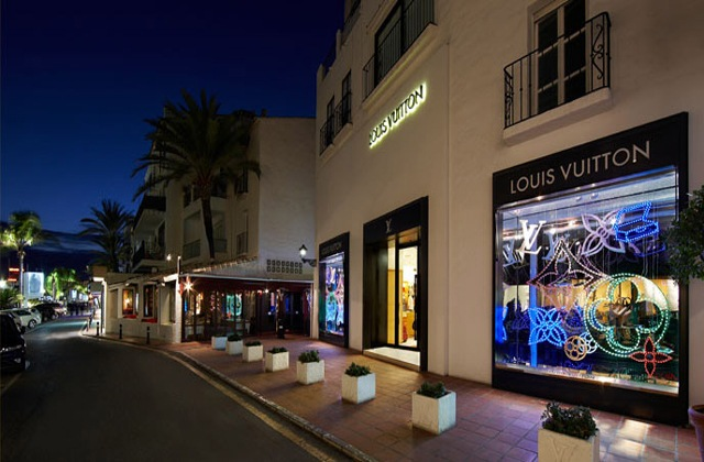 Marbella shopping - Louis_Vuitton_marbella