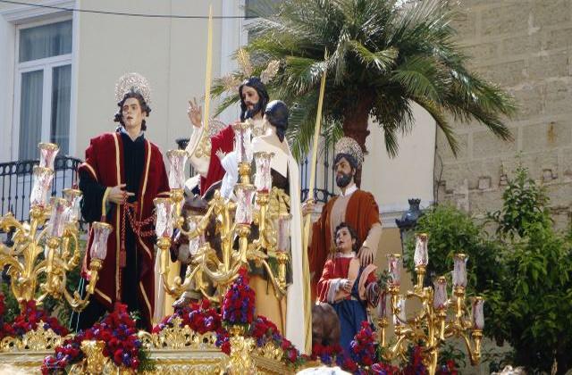 Prozessionen der Osterwoche in Andalusien - la_borriquita cadiz