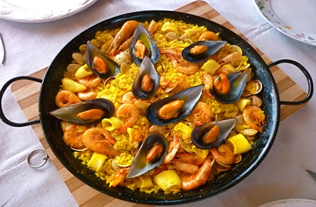 Where to eat paella in Conil de la Frontera - Las Rejas