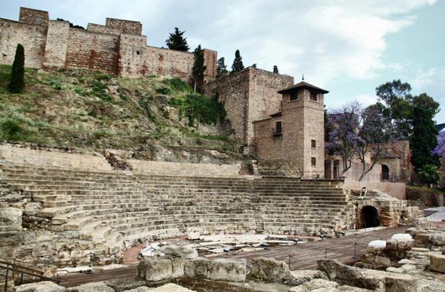 Imperio Romano - teatro romano malaga
