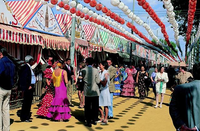 fêtes en Andalousie - feria de sevilla