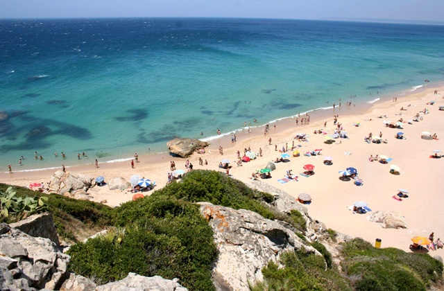 Best beaches in Andalucia - zahara de los atunes
