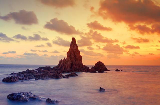 Descubre Andalucía - Arrecife de las Sirenas, Cabo de Gata