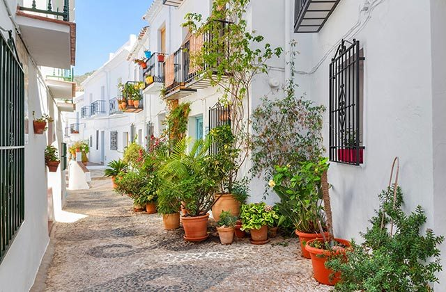 Patios de Andalucia - Frigiliana