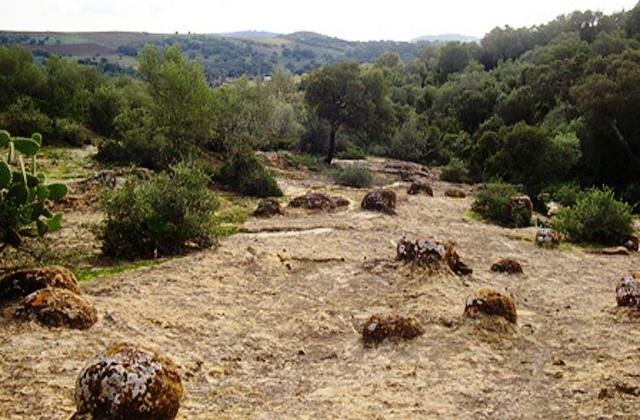 paisaje lunar los banquetillos