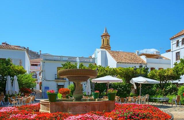 Patios de Andalucia - Plaza de los Naranjos Marbella