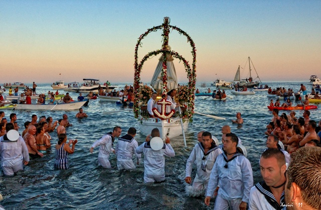 Andalucia Festivals - Marine Processions in Honor of the Virgin of Mount Carmel