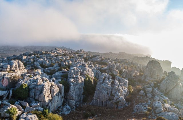viewpoints in Andalucia - El Torcal, Antquera
