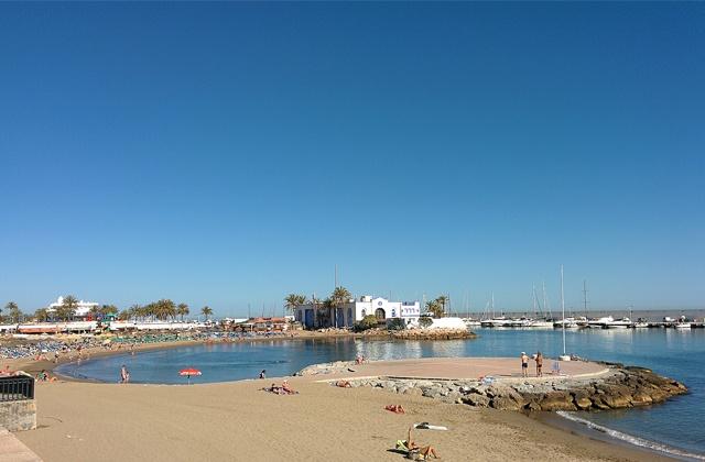 Bandera Azul - El Faro, Marbella