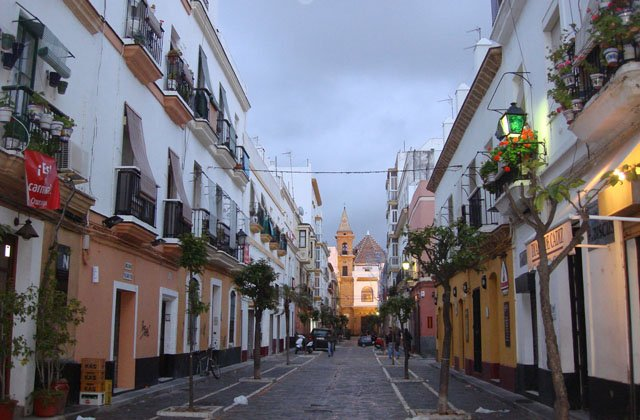 Shopping dans le centre de Cádiz