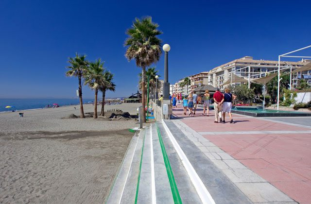Blue Flag - playa estepona