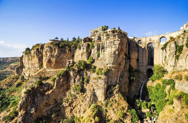 viewpoints in Andalucia - Puente Nuevo, Ronda