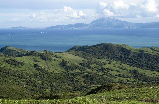 Panoramen von Andalusien - Mirador del Estrecho, Tarifa