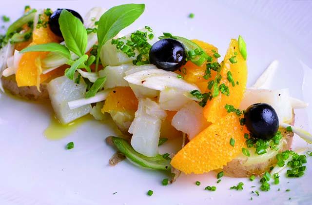 recetas refrescantes de verano - Ensalada malagueña
