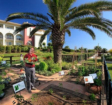Huerto ecológico del hotel Fuerte Conil - Costa Luz