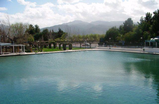 Piscinas naturales de Andalucia - Balsa de Cela, Almería