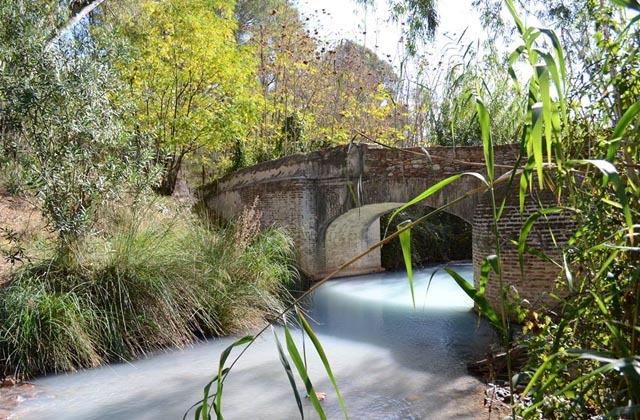 Naturpools von Andalusien - asares. Fotografía Daniel Jiménez.