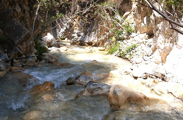Piscinas naturales de Andalucia - Río Chillar, Nerja