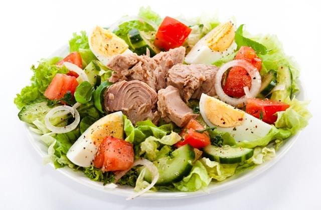 Recettes les plus rafraichissantes d'Andalousie - Salade mixte