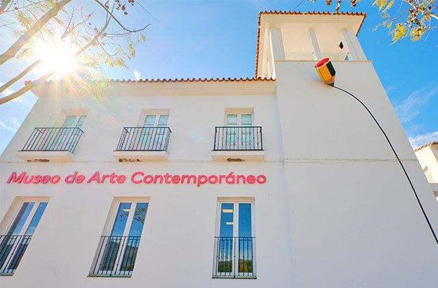 Genalguacil, Museo de Arte Contemporáneo - Crédito editorial: Robalito / Shutterstock.com