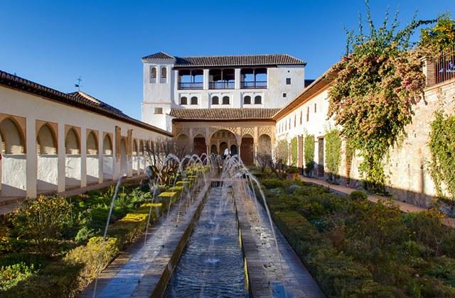 Jardines Generalife, Granada
