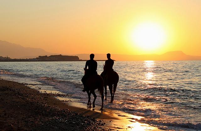 Paseo a caballo por Conil
