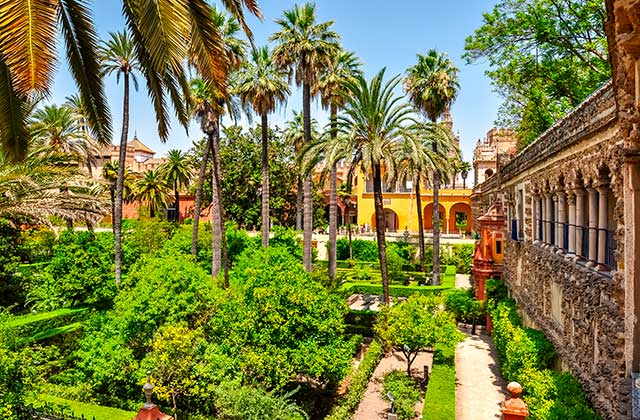 Jardines del Real Alcázar
