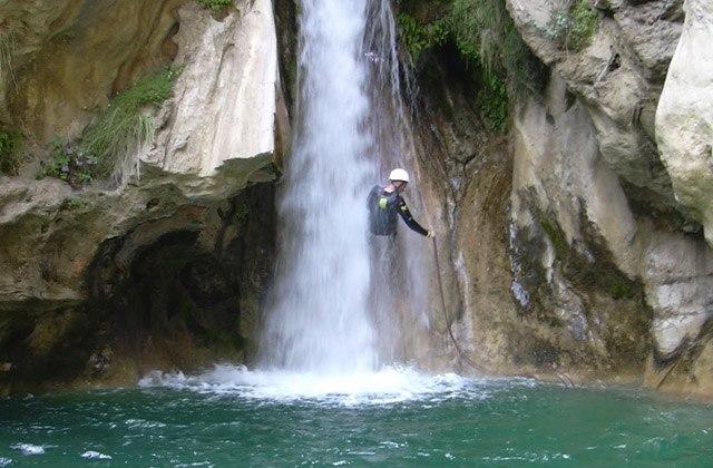 Piscinas naturales de Andalucia - Río Verde. Fotografía Ditomonte