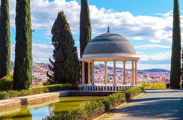 Fuente del Jardín Botánico, Málaga