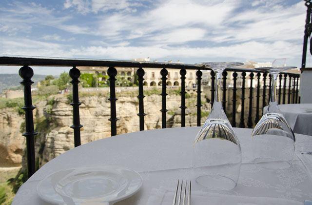 20 restaurantes con las mejores vistas de andaluc a - Bares en ronda ...