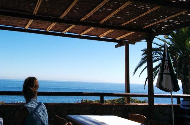 Restaurantes con vistas de Andalucía - El Mirlo, Tarifa