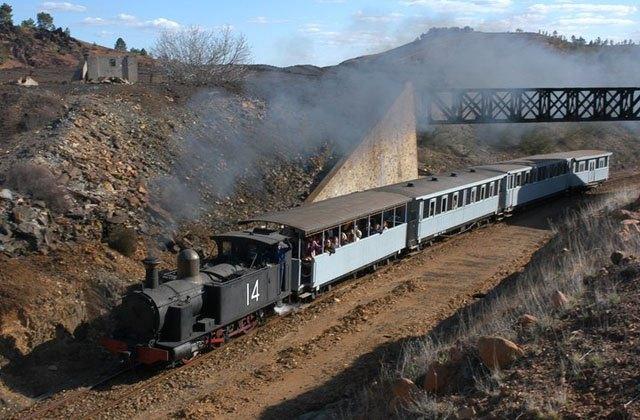 Ferrocarril Minero de Río Tinto.
