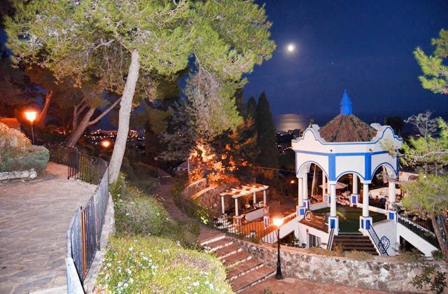 Restaurantes con vistas de Andalucía - La Cúpula, Benalmádena