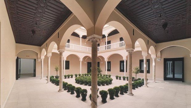 Patio Museo Picasso Málaga