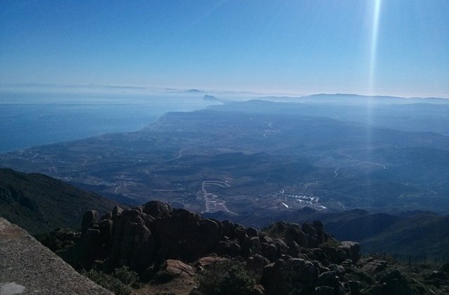 Andalucia Hiking trails - Pico Los Reales. Fotografía by Wikiloc