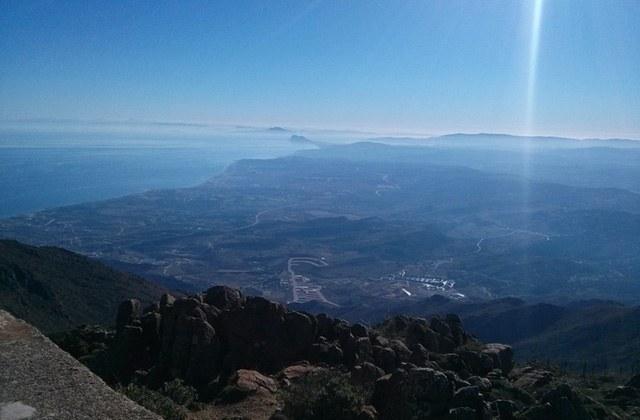 Rutas de senderismo en Andalucia - Pico Los Reales. Fotografía by Wikiloc