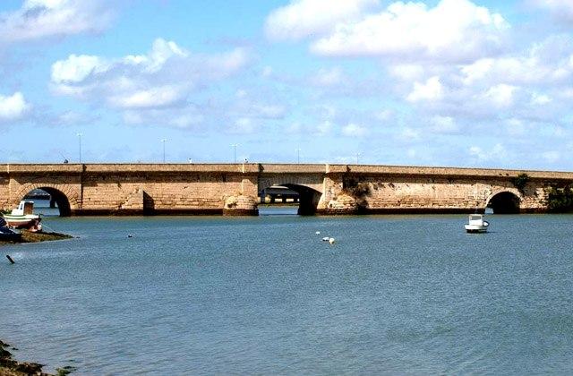 Puente Zuazo, Cádiz. Fotografía de Javier Morales