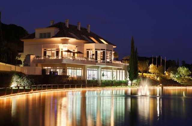 Restaurantes con vistas de Andalucía - Restaurante El Lago Marbella