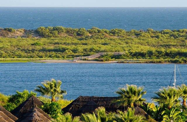 Pilztourismus: 9 Orte in Andalusien zum Pilzesammeln: Vistas desde el hotel Fuerte El Rompido