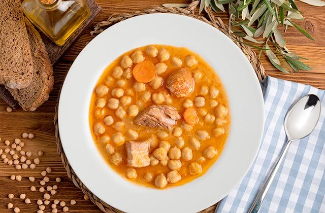 Potage garbanzos