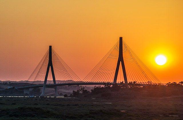 Puente internacional del Guadiana, Ayamonte (Huelva)