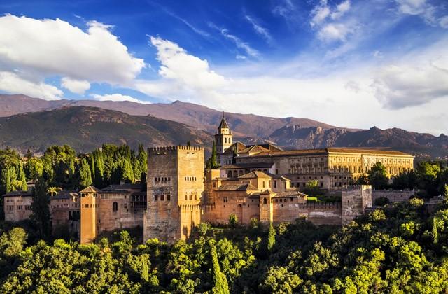 Cosas que hacer en Andalucía - Alhambra desde el mirador de San Nicolás
